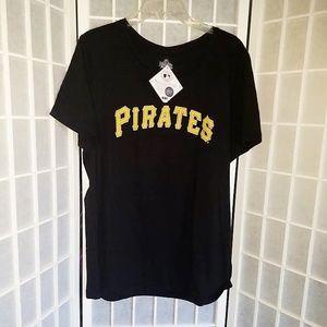 MLB Women's Size XXL Pittsburgh Pirates Tee